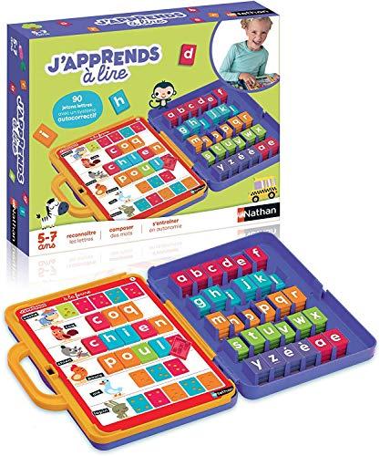 classement un comparer Nathan – 31074 – J'apprends à lire – Jeux éducatifs pour les enfants de 5 à 7 ans