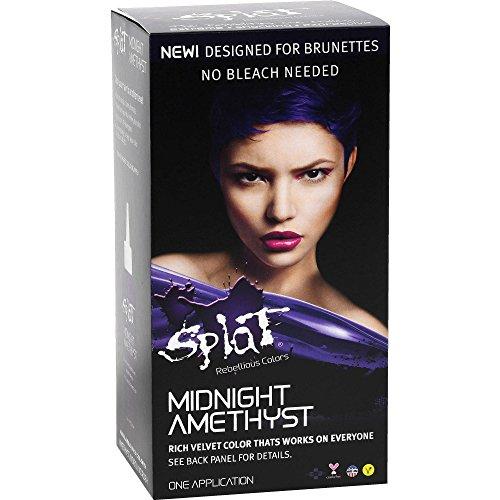 Splat Midnight Hair Color Amethyst 6.0 oz Amethyst