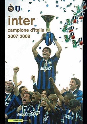 Poste Italiane Inter Folder filatelico da Collezione Scudetto 2007/2008
