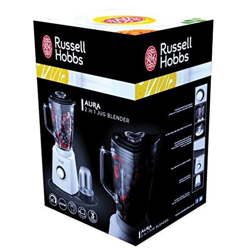 Russell Hobbs Aura Batidora picadora de 750w con Vaso de cristalde ...