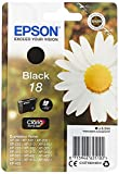 Epson C13T18014012 - Cartucho de tóner adecuado para XP30, color negro válido para los modelos Expression Home XP-405, XP-402, XP-202, XP-102 y otros, Ya disponible en Amazon Dash Replenishment