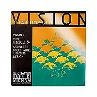 Vision Titanium solo ヴィジョンチタニウムソロ ヴァイオリン弦 E線 ステンレススチールワイヤー 4/4 チタニウムデザイン VIT01