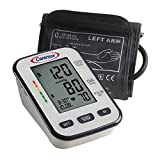 Caremax Blood Pressure Monitor FDA Approved Accurate BP Monitor Clinical Automatic Blood Pressure Monitor for Arm with Irregular Heartbeat and Pulse Detector