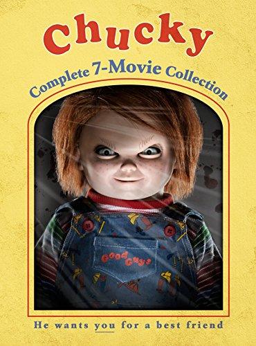 CHUCKY 1-7 CL DVD