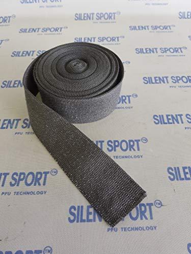 Original Silent Sport™ Hitzeschutzband für Auspuffe / Grau / 10m x 5cm