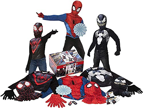 Rubie's Imagine Amazon Exclusive 19-Piece Spider-Man Dress-Up Trunk, Small