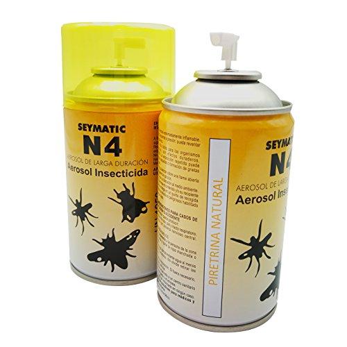 Insecticida Profesional Seymatic N4, con Piretrinas Naturales. Repele y mata fulminantemente Moscas,...