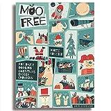 Moo Free White & Milk Chocolate Alternative Advent Calendars (Blau - Weiße Schokolade Alternative)