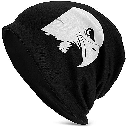 Eagle Bird Animal Head Strength Power Wildlife Warm Slouchy Soft Headwear, Comodidad...
