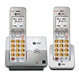 AT&T EL51203 DECT 6.0 Phone with Caller ID/Call Waiting, 2 Cordless Handsets, Silver (Renewed)