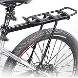 Portaequipajes Bicicletas,Portaequipajes Aluminio Bicicletas,Portaequipajes De Liberación Rápida Capacidad De Carga Máxima De 20 Kg para Postes Asiento Redondos Menos 31mm