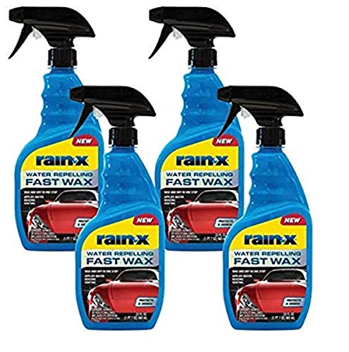 Rain-X 620118W Water Repelling Fast Wax, 23 Fluid_Ounces, 4 Pack