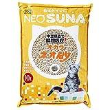 猫砂 7861 コーチョー ネオ砂オカラ 10L×5袋セット(50L) 猫トイレ トイレ砂 消臭 ネコの砂