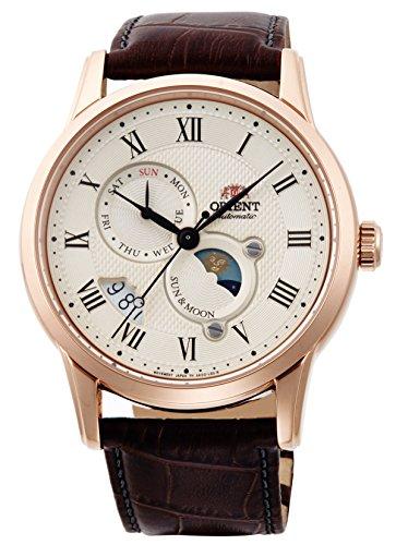 ORIENT Classic Sun & Moon Mechanical Watch RN-AK0001S Men's
