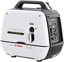 Atima Inverter Generator 2000 watts,AY2000i Powered by Yamaha Engine Super Quiet Gas RV..