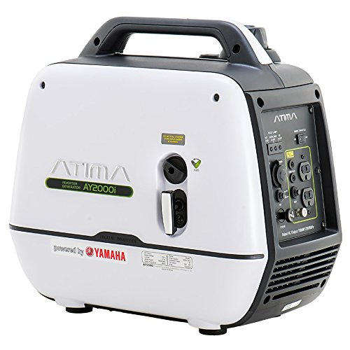 Atima Inverter Generator 2000 watts,AY2000i Powered by Yamaha Engine Super Quiet Gas RV Portable Generator