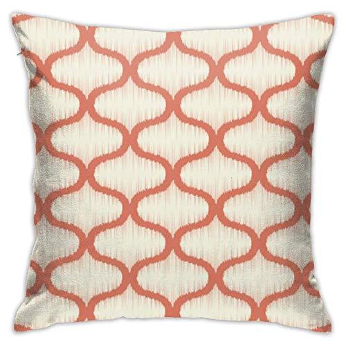 N/Q Throw Pillow Cover Seamless Geometric Lattice 18x18 Inches Pillowcase Home Decorative Square Pillow Case Cushion Cover