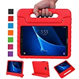 NEWSTYLE Samsung Galaxy Tab A 10.1 Kids Case (2016 NO S Pen Version) - Shockproof Light Weight Protection Handle Stand Case for Galaxy Tab A 10.1 Inch (SM-T580 / T585) Tablet 2016 Release (Red)