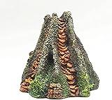 YYhkeby Decoración del Acuario Tanque de Peces Paisajismo Simulación Burbuja Adornos Volcánicos Paisaje Decoración Accesorios Jialele