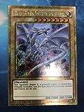 YU-GI-OH! Yugioh Blue-Eyes White Dragon MVP1-ENGV4 Gold Secret Rare Limited Edition