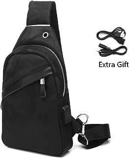 5aa7ef885950 Amazon.com  travel crossbody bags - Men  Clothing
