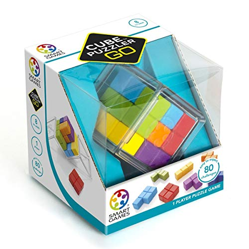 Smart Games- Cube PUZZLER GO, Multicolor (SG412) ,...