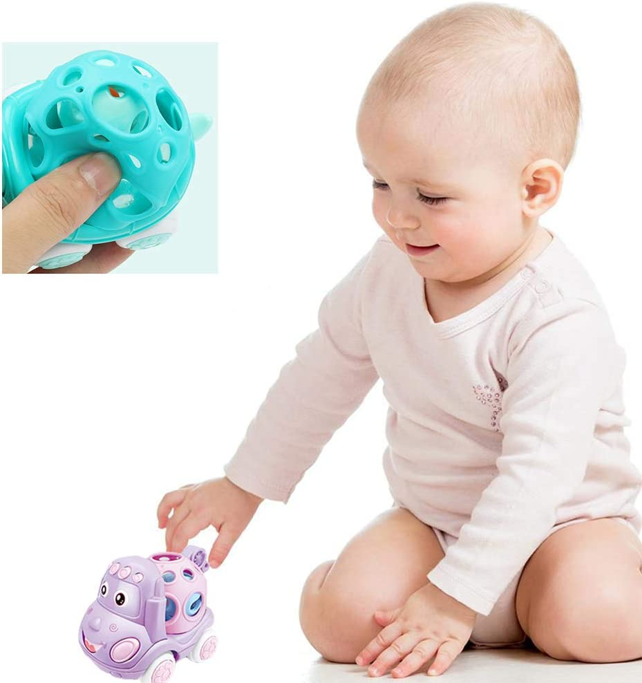 Soft Shell Turtle-Blue AHUA Pull Back Toy Cars for Toddlers Push and Go Inertial Soft Shell Turtle Toy Animal Friction Powered Car Toys Party Favors for Kids Gift for Boys Girls Age 1,2,3,4