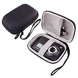 WERJIA Hard EVA Travel Case for AbergBest GordVE 21 Mega Pixels 2.7' LCD Rechargeable Digital Camera (Black)