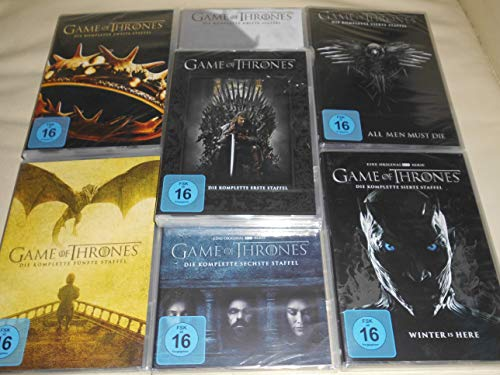 Game of Thrones Staffel 1-7 (1+2+3+4+5+6+7) [DVD Set]