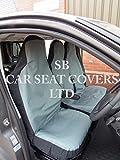 R – Apto para furgoneta Vauxhall MOVANO 2009, fundas de asiento, lona impermeable gris Rossini S + D £23.85