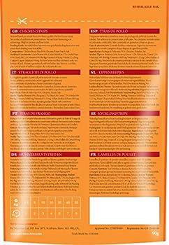 Pet Munchies - Friandises pour chien - Bandes de poulet - 100 g - Lot de 8
