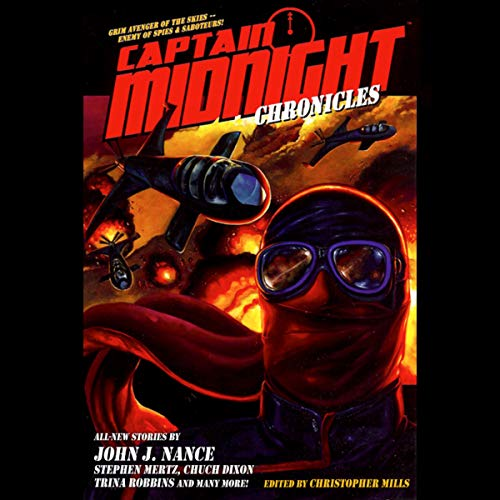 Captain Midnight Chronicles audiobook cover art