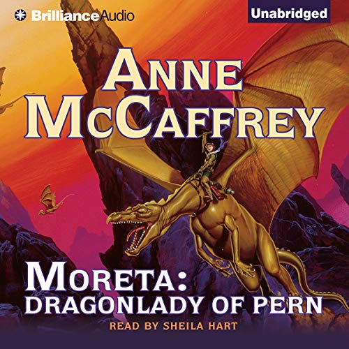 Moreta audiobook cover art
