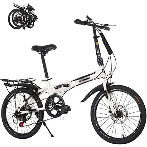 MXCYSJX Vélo Pliant, Vélo Pliable Adulte Léger...