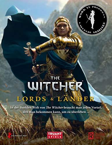 The Witcher - Lords & Länder Spielleiterschirm Deutsche Version Erweiterung