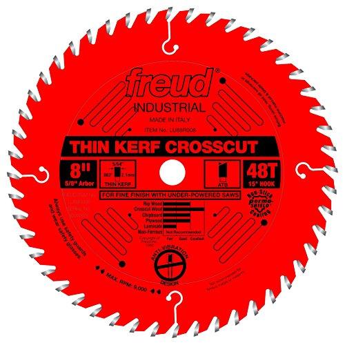 Freud 8' x 48T Thin Kerf Fine Finish Crosscut Blade (LU88R008)
