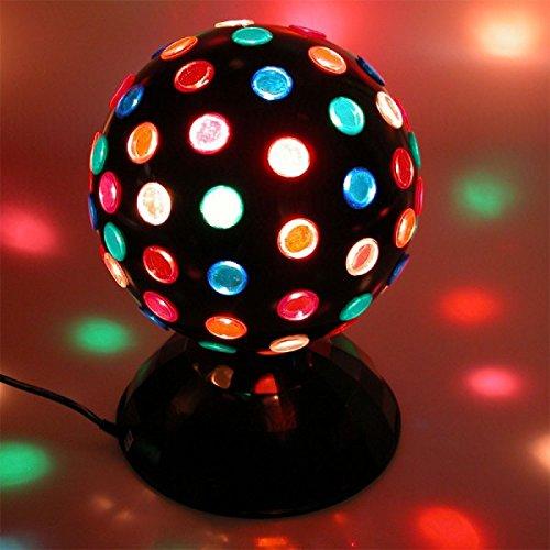 Preisvergleich Produktbild Dune SAS LED Party Magic Disco Kugel Discolicht Discoball Retro Ø 22cm