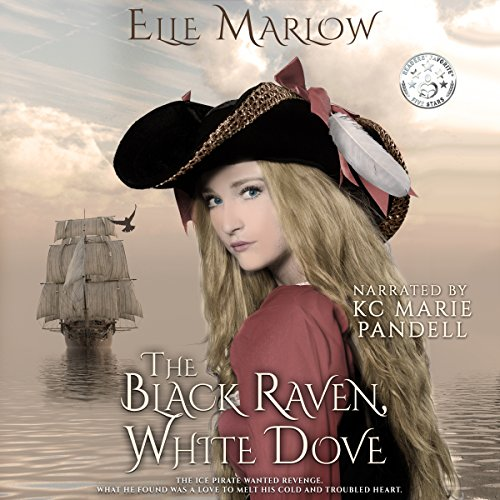 The Black Raven, White Dove audiobook cover art
