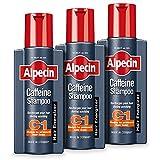 Alpecin caffeina Shampoo 250 ml (pacchetto di 3)