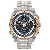 Bulova Men's Chronograph Quartz Watch with Stainless Steel Strap 98B317