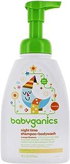 Babyganics Shampoo And Body Wash Night Time Orange Blossom, 16 Ounce, 2 Pack