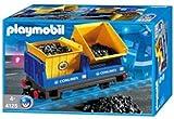Playmobil - 4125 - Train Radio-commandé -  Wagon bennes basculantes