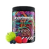X-Gamer X-Tubz Fruit Punch – Gaming Booster Pulver mit Fruchtpunsch-Geschmack, Energy Drink für Konzentration, Fokus und Ausdauer – Getränkepulver mit Vitaminen, vegan, zuckerfrei – 600 Gramm