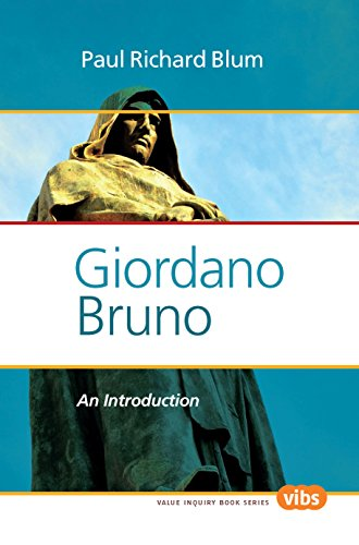 Giordano Bruno: An Introduction (Value Inquiry Book, Band 254)
