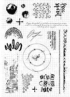 フランスの背景クリアスタンプ/DIYスクラップブッキング/フォトアルバム用シール装飾的なクリアスタンプシートA3031