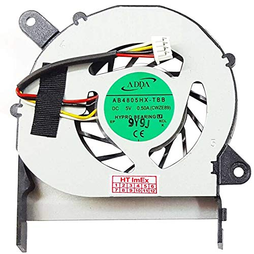Ventilador de ventilador compatible con ACER Aspire 1410-232G25n, 1410-232G32n, 1410-741G16N, Aspire Timeline 1810T-733G25n, 1810TZ-414G32n, Aspire Timeline 1810TZ-412G25n, 1810TZ-414G50n