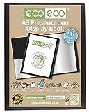 eco-eco A3 50% Riciclata 40 Taschino Colore Nero Presentazione Mostra Libro