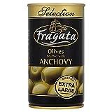 Fragata Anchoas Rellenas Extra Grande Aceitunas En Salmuera (350g) (Paquete de 6)
