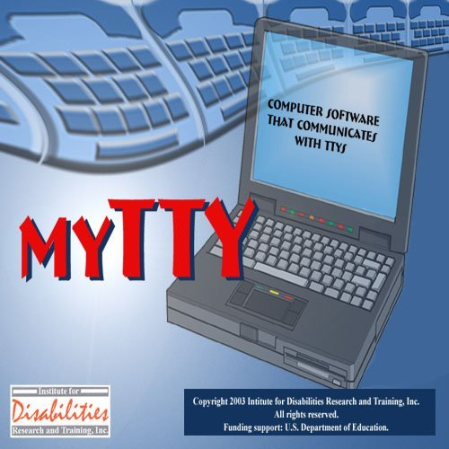 LAN myTTY 3.0 Software Phone System for 4 Seats & 4 Lines Computer Servers Deaf and Hearing Impaired Individuals for PC Only