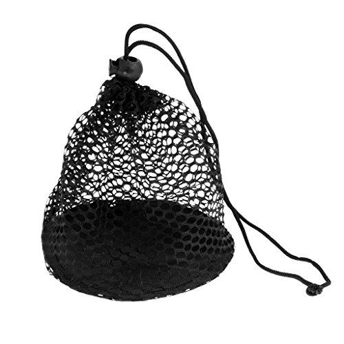 MagiDeal Nylonnetz Tasche Golf Tennis Ball Tragetasche zur Aufbewahrung für Golfbälle Tennisbälle, Tasche-Größe Auswählbar - L